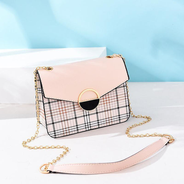 Trendinggate.com 1Apricot Women's bags 2019 Korean fashion summer new women's bags fresh Joker handbag shoulder Messenger bag