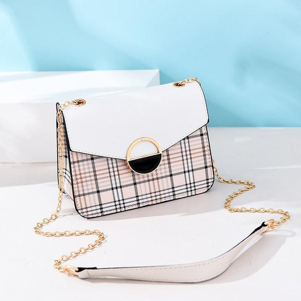 Trendinggate.com 1white (colour) Women's bags 2019 Korean fashion summer new women's bags fresh Joker handbag shoulder Messenger bag
