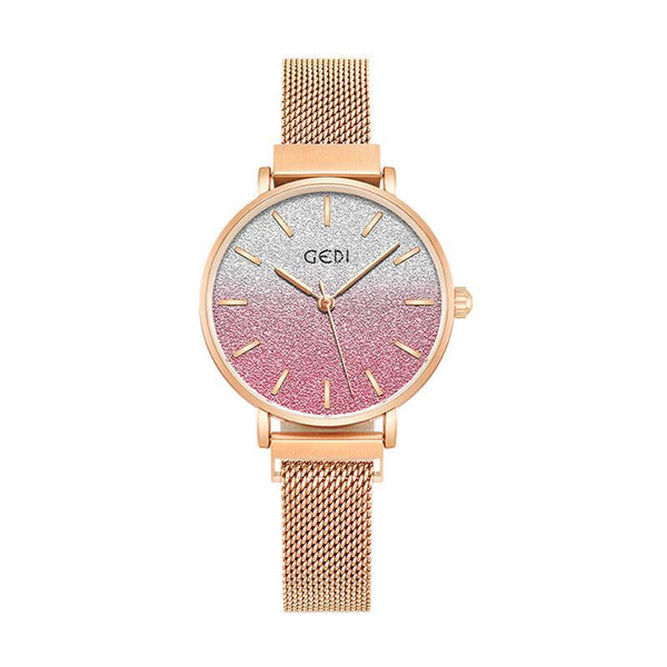 Trendinggate.com women watches Women's Watches with Waterproof Steel Belt for Female Students