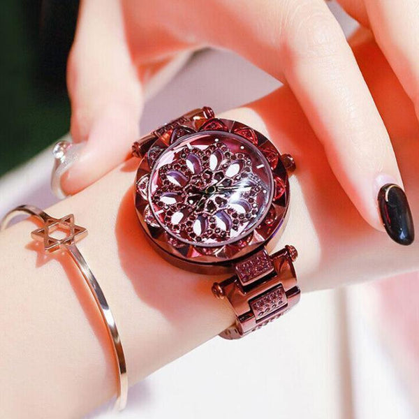 Trendinggate.com Violet+Box+Metering YJRunning Watch No.6 Red Tremble with 360 Degree Rotary Waterproof Watch