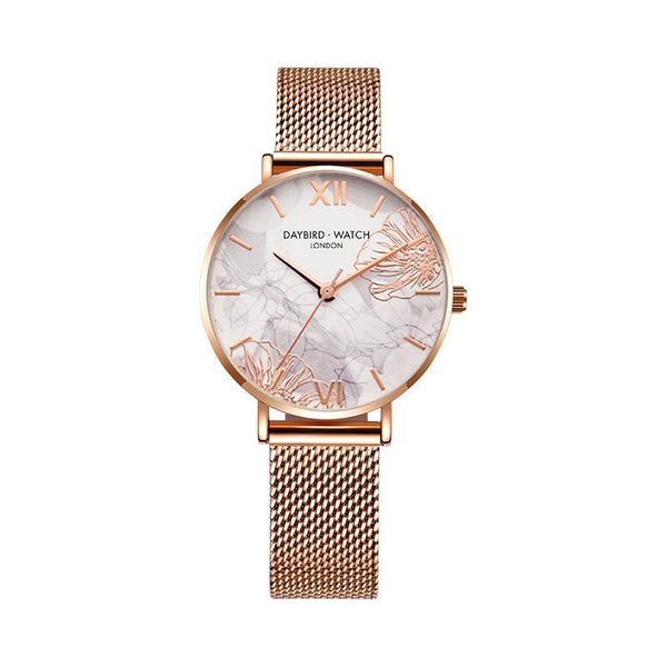 Trendinggate.com Line carving flower net belt Z.G.TWatch Lady Bees Wrist Garden Series Chatter with Light Luxury French Ladies Watch