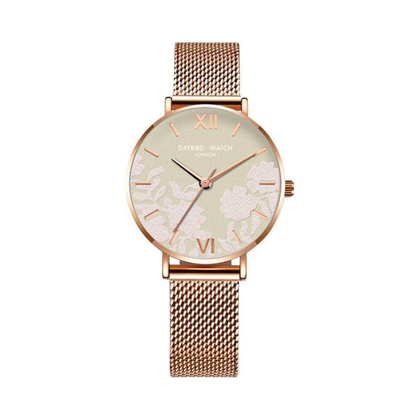 Trendinggate.com Matcha green net belt Z.G.TWatch Lady Bees Wrist Garden Series Chatter with Light Luxury French Ladies Watch