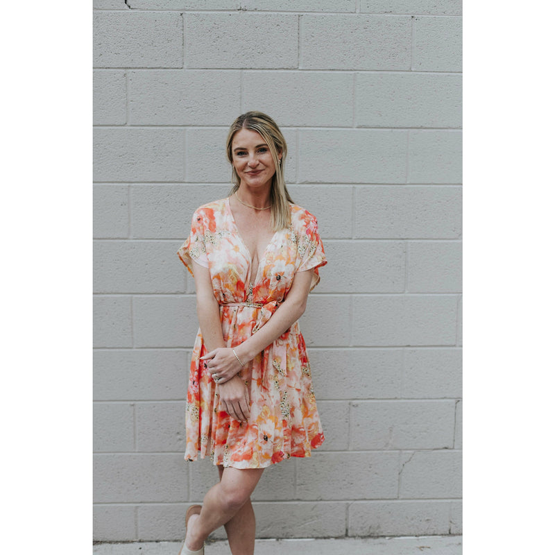 The Iris Lace Dress