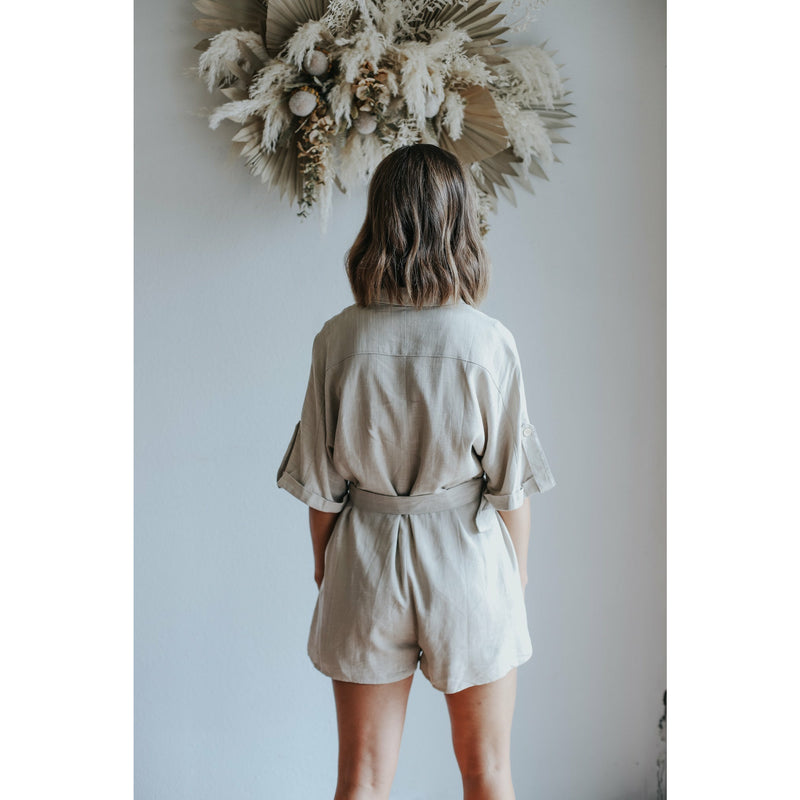 Rustica Button Blouse