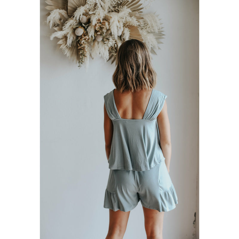 Vida Shorts- Denim