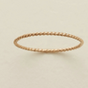 Braided Stacking Ring- Gold Filled