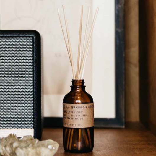 Teakwood and Tobacco - 3.5 oz Reed Diffuser (3 oz)