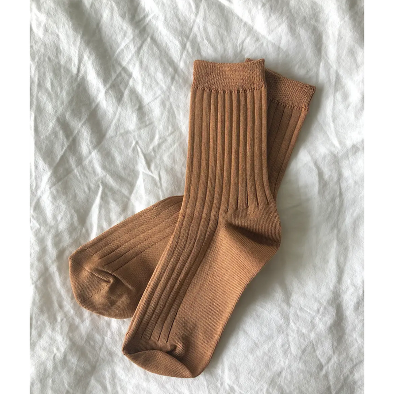 Le Bon Shoppe Her Socks - MC Cotton - Peanut Butter