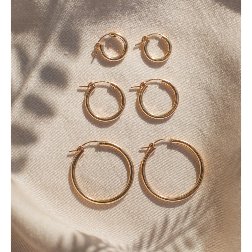 Maude Hoop Earrings