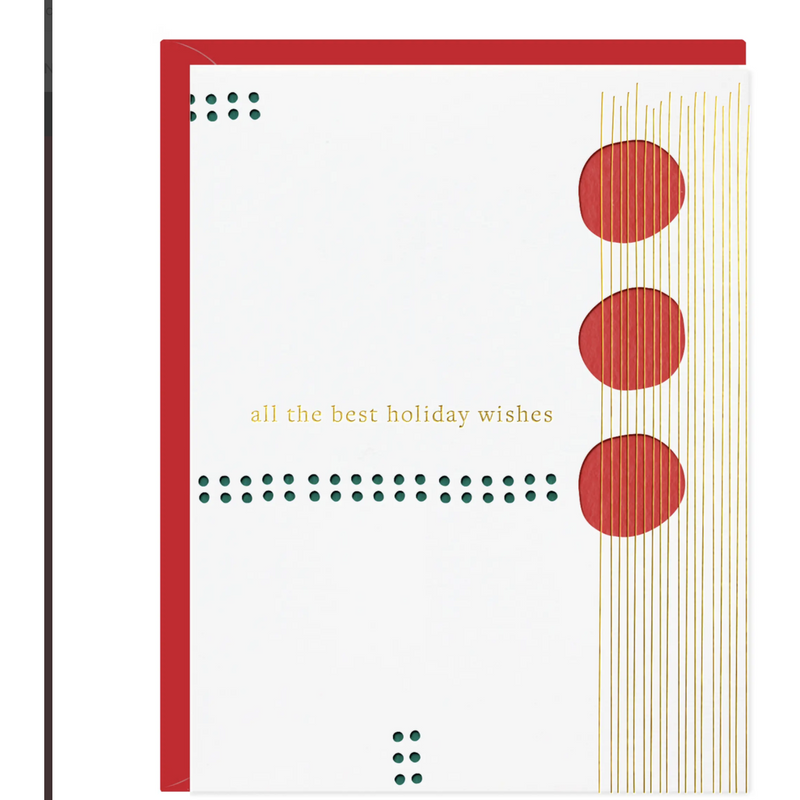 Best Holiday Wishes Jazz Card | Boxed Set of 6