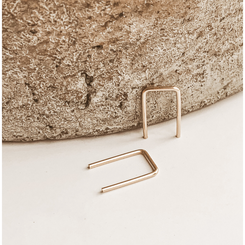 Sheena Marshall Tiny Staple Earrings