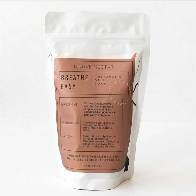 Breathe Easy Salt Soak 340g