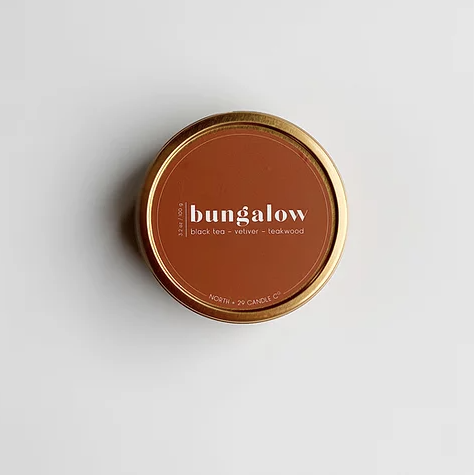 Bungalow 4 oz Candle Tin