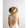 Gigi Pip Dahlia Tan - Women's Boater Hat