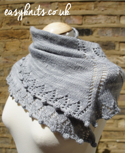 Winter Berry Shawl