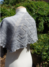 Load image into Gallery viewer, Winter Berry Shawl