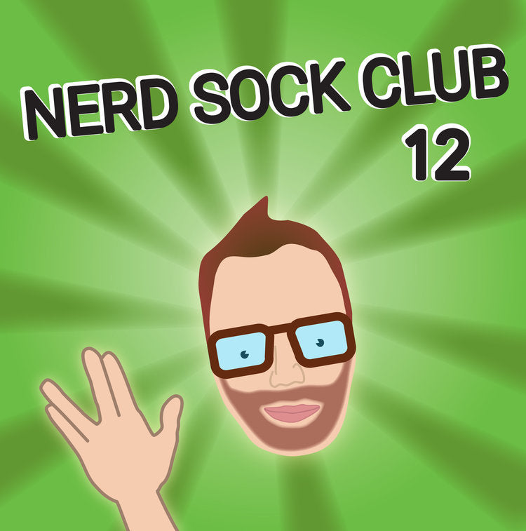 Nerd Sock Club 12 Month