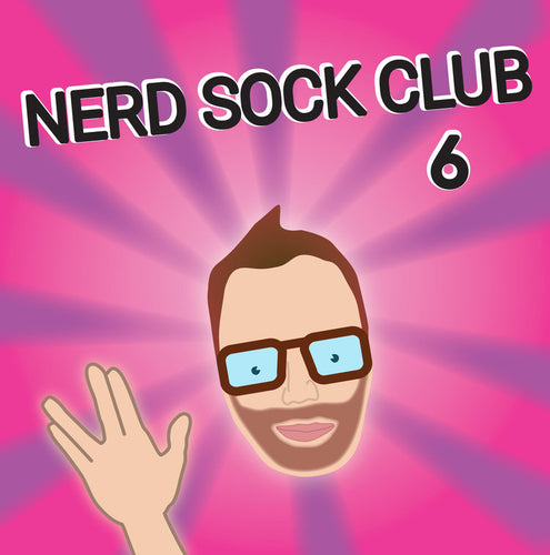 Nerd Sock Club 6 Month