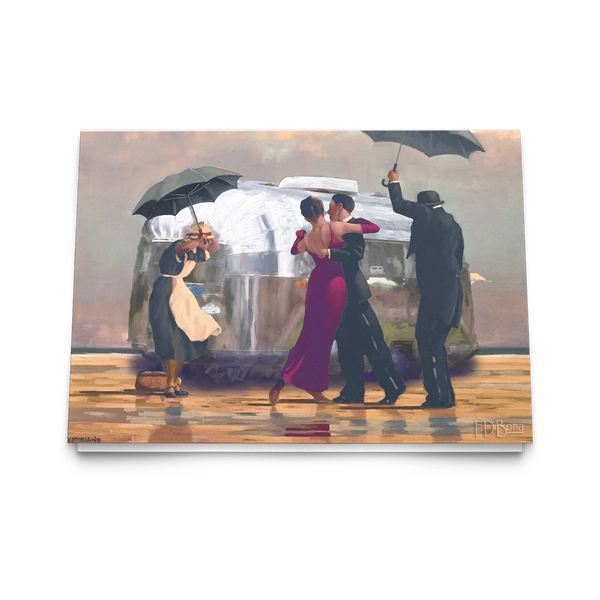 The Singing Butler Vettriano Notecard