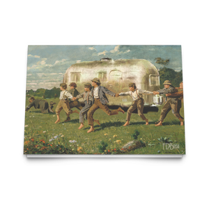 Snap the Whip Winslow Homer Notecard