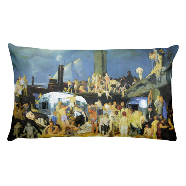 George Bellows Throw Pillow