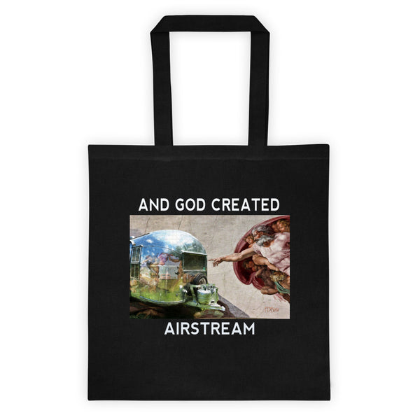 Tote Bag And God Created Airstream