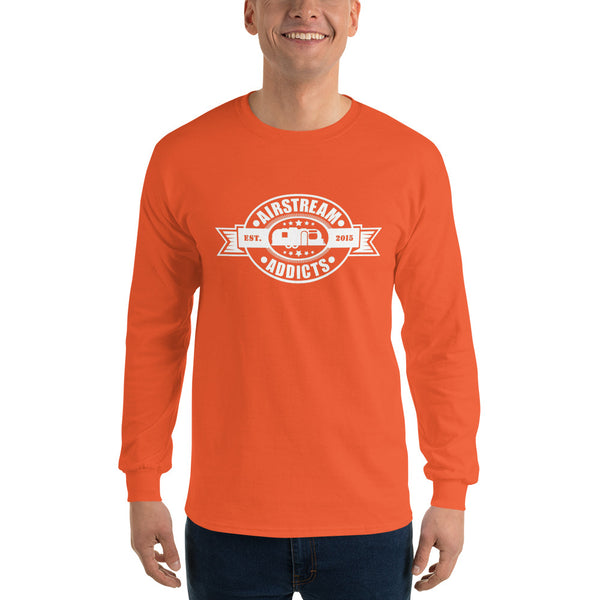 Airstream Addicts Dark Long Sleeve T-Shirt