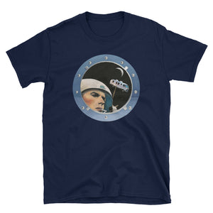David Bowie Airstream Motorhome in Space Unisex T-Shirt