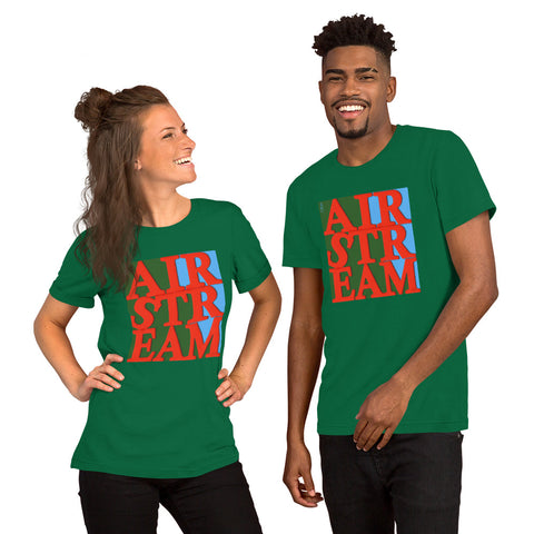 RED LETTER AIRSTREAM Short-Sleeve Unisex T-Shirt