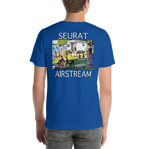 Seurat Sunday in Park (Back) Short-Sleeve Unisex T-Shirt