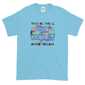 Passport Stamps Short-Sleeve T-Shirt