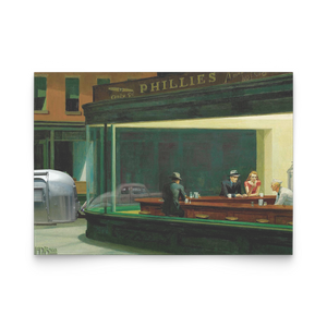 Nighthawks Edward Hopper Notecard