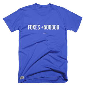 Foxes +500000