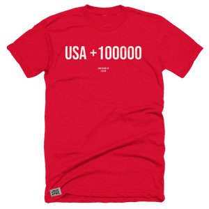 USA +100000 Red