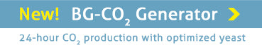 New! BG-CO2 Generator for a 24 hour monitoring with CO2
