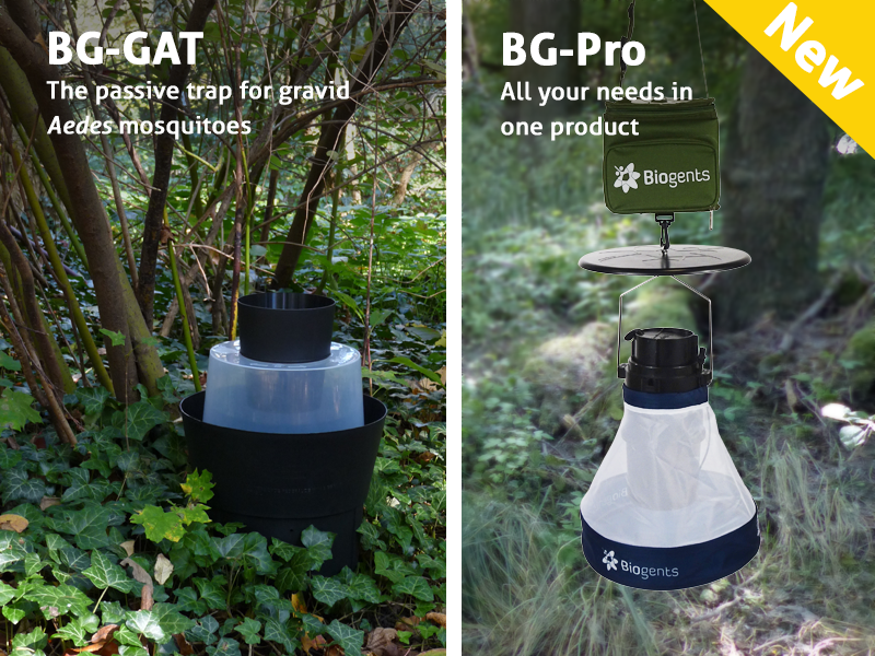 Biogents' traps BG-GAT and BG-Pro