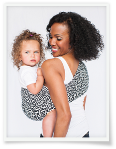 Hot Slings® AP Royals Adjustable Pouch Carrier - Melon Bellies