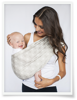 Hot Slings® AP Jett Adjustable Pouch Carrier - Melon Bellies