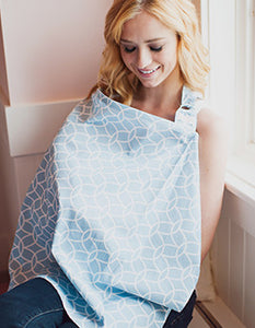 Sloane Nursing Cover - Melon Bellies