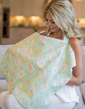 Load image into Gallery viewer, Udder Covers® Abbie Nursing Cover - MUSLIN - Melon Bellies