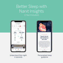Load image into Gallery viewer, Nanit Plus™ Video Wall Mount Baby Monitor with Sleep Tracking - Melon Bellies