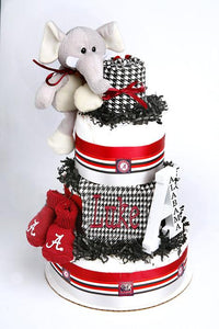 Alabama Diaper Cake - Melon Bellies