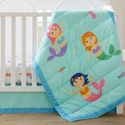 Wildkin Mermaids 3 pc Bed in a Bag - Melon Bellies
