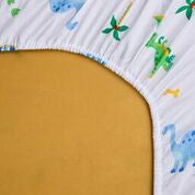 Wildkin Dinosaur Land Fitted Crib Sheet - Melon Bellies