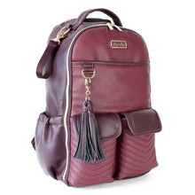 Load image into Gallery viewer, Itzy Ritzy® Boss Diaper Bag Backpack - Coffee & Cream - Melon Bellies