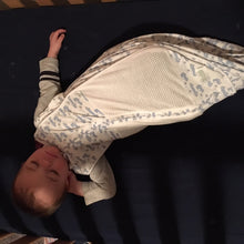 Load image into Gallery viewer, Woombie Grow With Me Swaddle - Melon Bellies