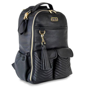 Itzy Ritzy® Boss Diaper Bag Backpack - Coffee & Cream - Melon Bellies