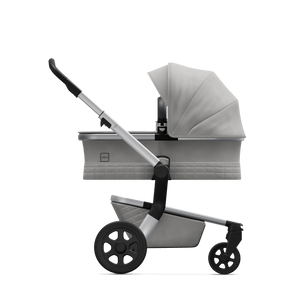 Joolz Hub Stroller with Bassinet in Stunning Silver - Melon Bellies