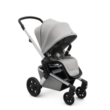 Load image into Gallery viewer, Joolz Hub Stroller with Bassinet in Stunning Silver - Melon Bellies