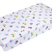 Wildkin On the Go Fitted Crib Sheet - Melon Bellies